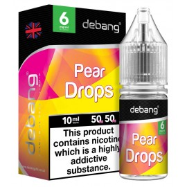 Debang Pear Drops E-Liquid 10ml LIQUIDS