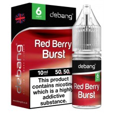 Debang Red Berry Burst E-Liquid 10ml LIQUIDS