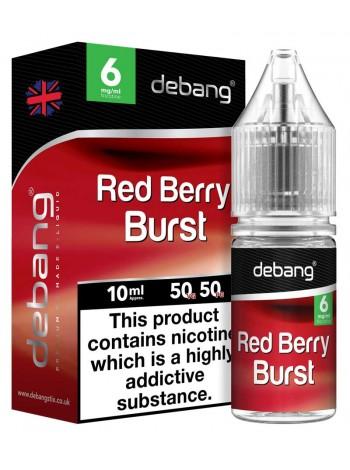 Debang Red Berry Burst E-Liquid 10ml LIQUIDS
