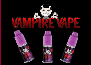 The New Range of Vampire Vape E-Liquids