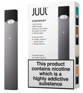 JUUL – Designed with smokers in mind